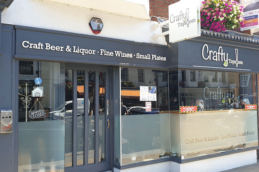 The Crafty Taproom, 77 High Street, Marlow SL7 1AB
